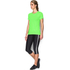 Under Armour Women's HeatGear Armour Short Sleeve T-Shirt - Lime Light: Image 4