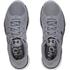 Under Armour Men's Micro G Assert 6 Running Shoes - Steel/White/Black: Image 5
