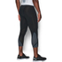 Under Armour Men's HeatGear SuperVent 3/4 Leggings - Black/Stealth Grey: Image 4