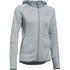 Under Armour Women's Swacket Full Zip Hoody - Steel: Image 1