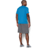 Under Armour Men's Tech Short Sleeve T-Shirt - Brilliant Blue/Stealth Grey: Image 4
