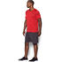 Under Armour Men's Jacquard Tech Short Sleeve T-Shirt - Red: Image 4