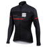 Sportful Gruppetto Partial Windstopper Jacket - Black/Grey: Image 1