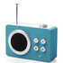Lexon Mini Dolmen Radio - Blue: Image 1