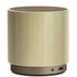 Lexon Fine Rechargeable Bluetooth Speaker - Gold: Image 1
