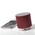 Lexon Fine Rechargeable Bluetooth Speaker - Burgundy: Image 4