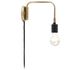 Menu Staple Wall Lamp - Brass: Image 1