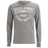 Tokyo Laundry Men's Point Hendrick Long Sleeve Top - Mid Grey Marl: Image 1