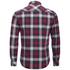 Tokyo Laundry Men's Carlsson Flannel Long Sleeve Shirt - Deep Red: Image 2
