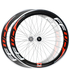 Fast Forward F6C Carbon Tubular 24/28 Spoke Wheelset: Image 1