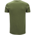 DC Comics Mens The Flash Line Logo T-Shirt - Military Green: Image 4