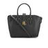 Lauren Ralph Lauren Women's Carrington Bethany Shopper Bag - Black: Image 1