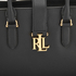 Lauren Ralph Lauren Women's Carrington Bethany Shopper Bag - Black: Image 4