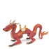 Papo Fantasy World: Fire Dragon with Saddle: Image 1