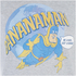 Bananaman Mens Eat A Banana T-Shirt - Grijs: Image 4