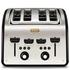 Tefal Maison TT7708UK Stainless Steel 4 Slice Toaster - Chalkboard Black: Image 1