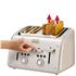 Tefal Maison TT770AUK Stainless Steel 4 Slice Toaster - Oatmeal Grey: Image 5