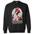 Warner Brothers Men's Bugs Bunny Weihnachts-Sweatshirt – Schwarz: Image 1