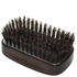 Denman Jack Dean Beech Wood Dark Finish Military Brush: Image 1
