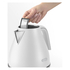 De'Longhi Elements Kettle and Four Slice Toaster - White: Image 4