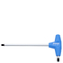 Unior Ball End Allen Key with T-Handle - 4mm: Image 1