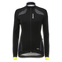 Santini Women's Coral Windstopper Jacket - Yellow: Image 2