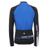 Santini Pilot Thermofleece Long Sleeve Jersey - Blue: Image 3