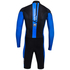 Santini Dirt Shell Aquazero Cyclocross Fleece Body Suit - Black/Blue: Image 2