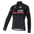 Santini Giro d'Italia 16 Maglia Nero Thermal Long Sleeve Jersey - Black: Image 1