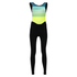 Santini Women's Coral Bib Tights - Yellow: Image 2