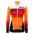 Santini Women's Coral Thermal Long Sleeve Jersey - Orange: Image 2
