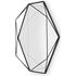 Umbra Prisma Geometric Mirror - Black: Image 2