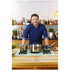 Jamie Oliver by Tefal Stainless Steel Frying Pan & Glass Pan Lid - 28cm: Image 4