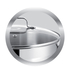 Jamie Oliver by Tefal Stainless Steel Frying Pan & Glass Pan Lid - 28cm: Image 6