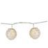 Parlane Lace Globe Garland Lights - White (Set of 10): Image 1