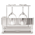 simplehuman Compact Brushed Steel Dish Rack: Image 4