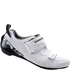 Shimano TR5 SPD-SL Triathlon Shoes - White: Image 1