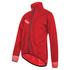Santini Pioggia Dura Jacket - Red: Image 1