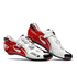 Sidi Wire Carbon Vernice Cycling Shoes - White/Black/Red: Image 1