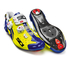 Sidi Wire Carbon Vernice Cycling Shoes - Yellow Fluro/Blue: Image 1
