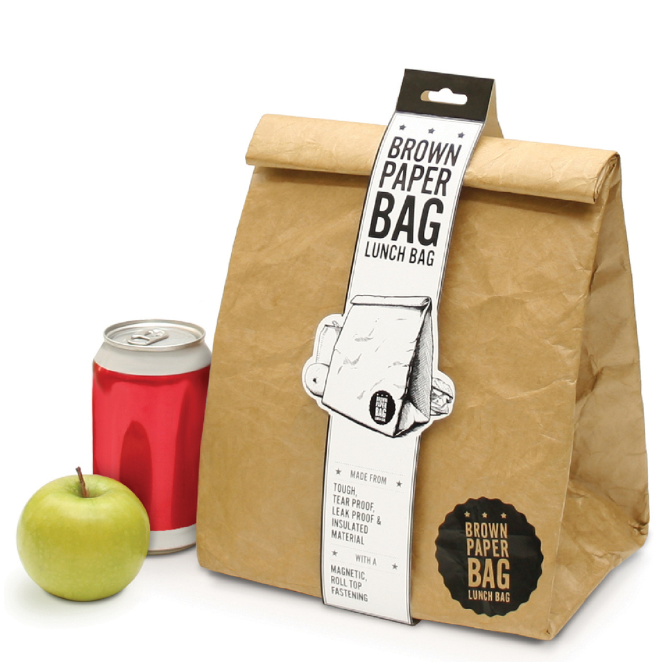 Brown Paper Bag Insulated Lunch Bag Iwoot
