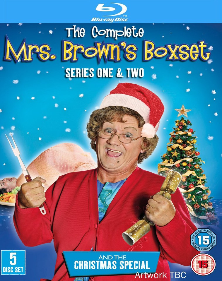 Mrs Browns Boys Series 1 2 And Christmas Special Blu Ray