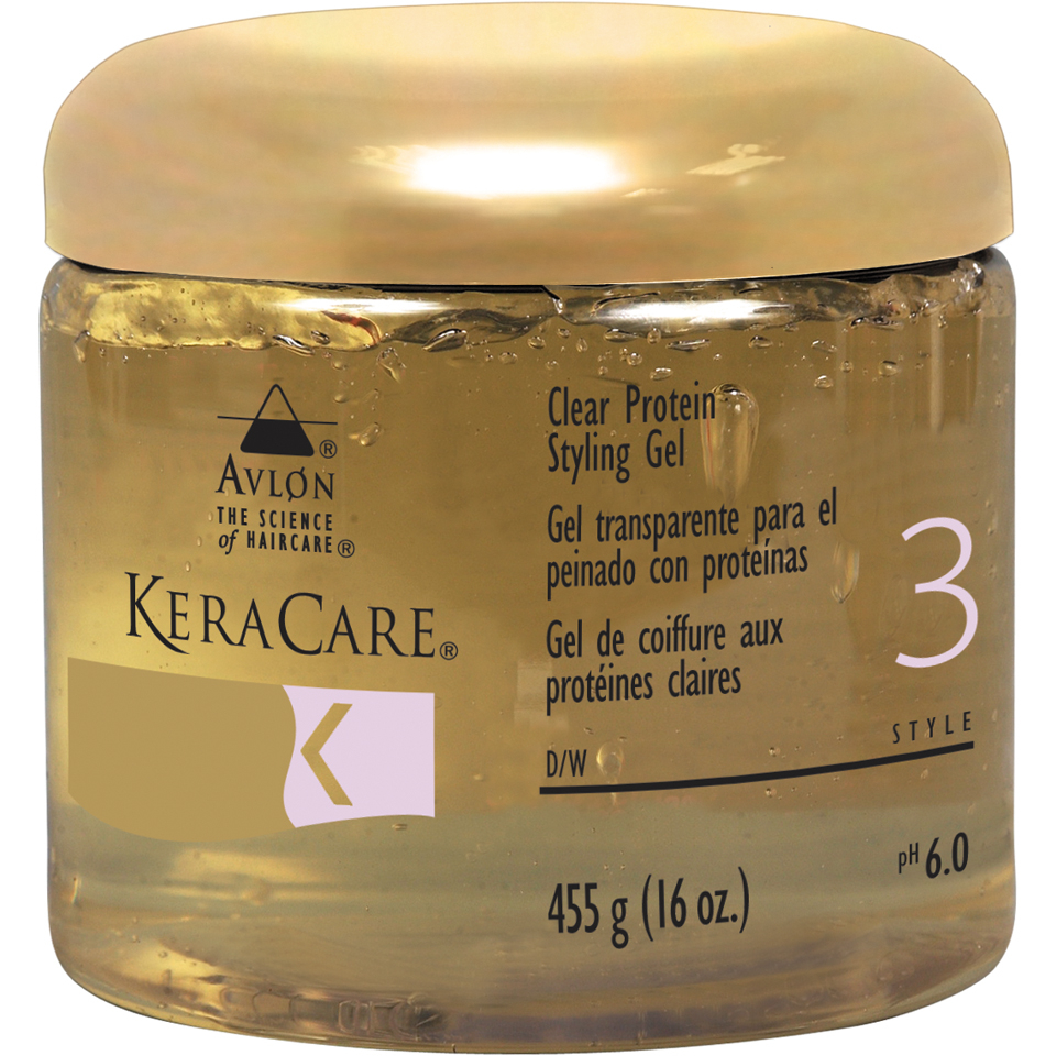 Hair Gel Styles: KeraCare Protein Styling Gel (Clear) (16oz