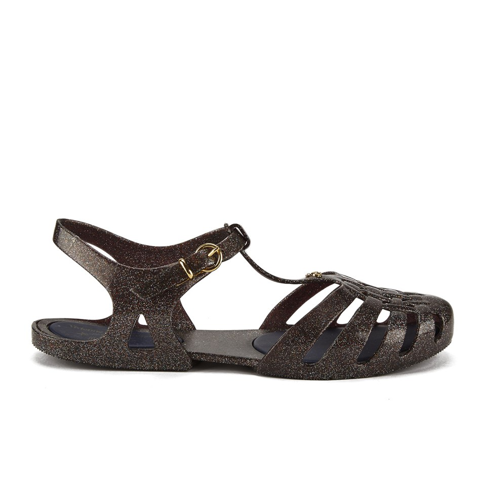 Vivienne Westwood For Melissa Womens Aranha Hits Flat Sandals