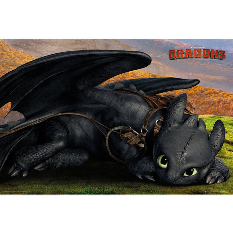 Astrid how to train your dragon 2 poster