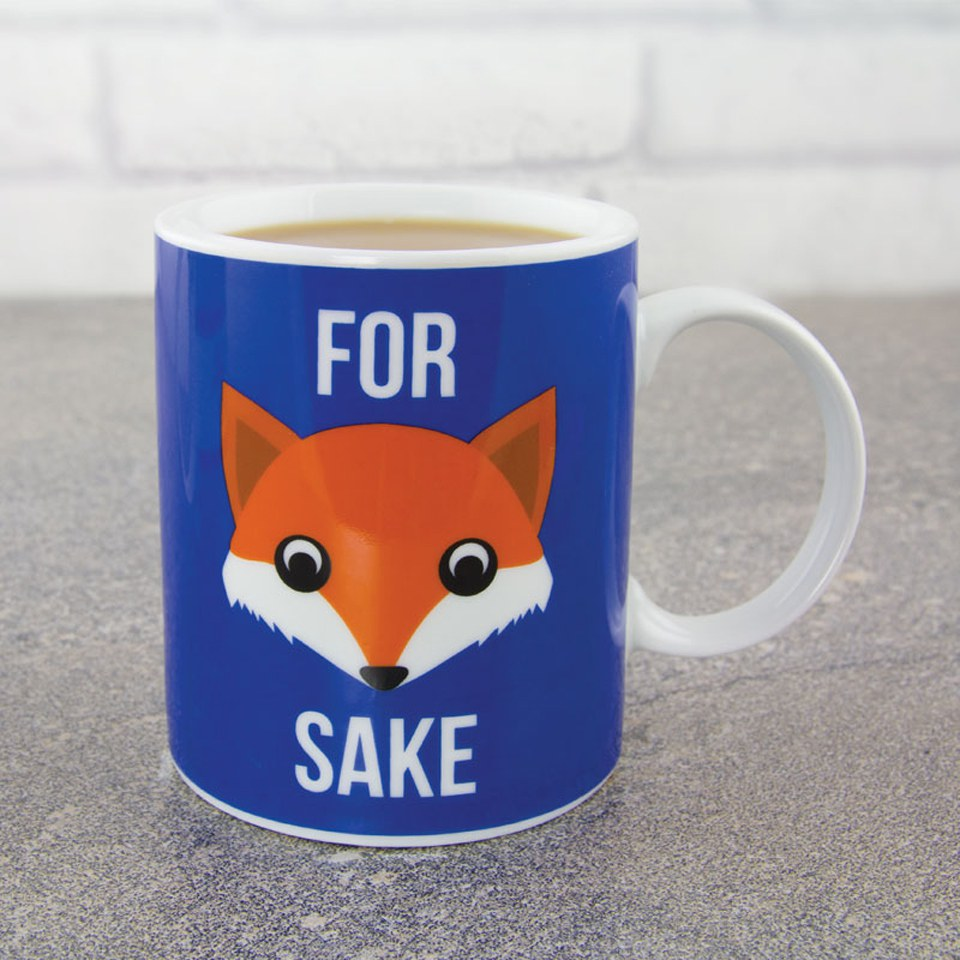 For Fox Sake Mug Iwoot