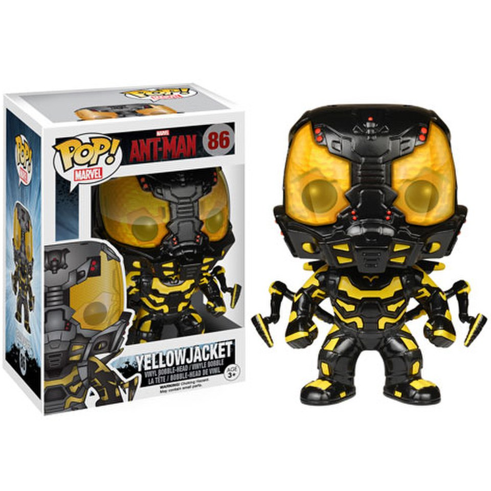 Marvel Ant Man Yellowjacket Pop Vinyl Bobble Head Figure