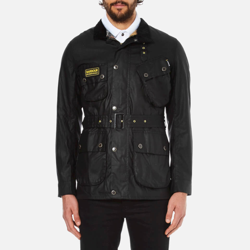 Barbour International Men's Slim International Wax Jacket ...