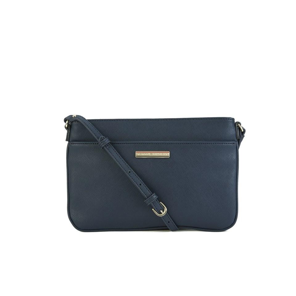 tommy hilfiger women 39 s honey east west flat crossbody bag. Black Bedroom Furniture Sets. Home Design Ideas