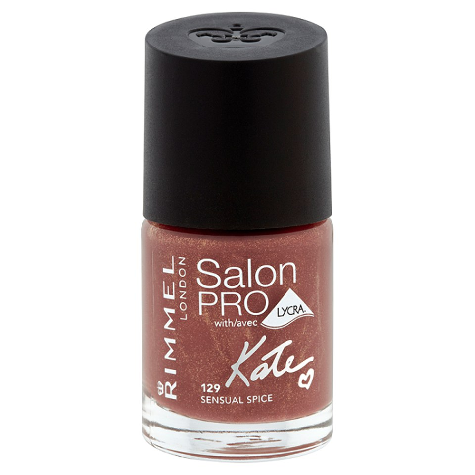 Rimmel kate salon pro nail polish 129 sensual spice for Added touch salon